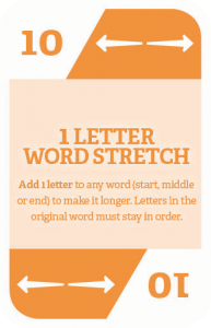 How to play WordStacker - 1 Letter Word Stretch